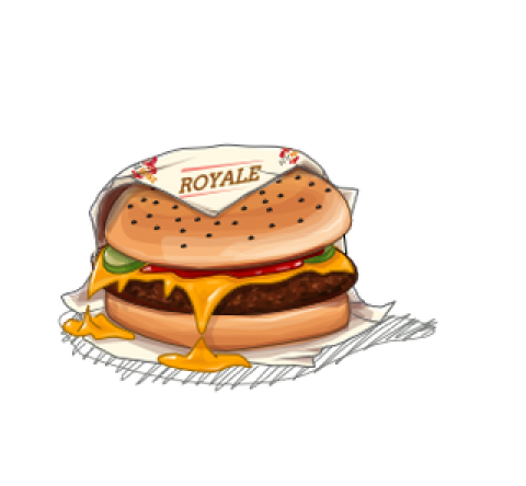 "Title: ""Royale with Cheese"""